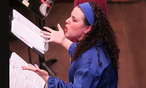"""Cassandra Dupler as """"Maggie"""" in The Noteworthy Life of Howard Barnes (Goodspeed Musicals)"""