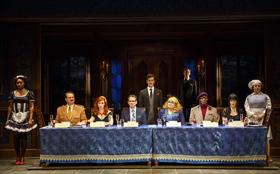 Cassandra Dupler appeared in the world premiere of Clue On Stage at the Bucks County Playhouse. Photo by Joan Marcus.