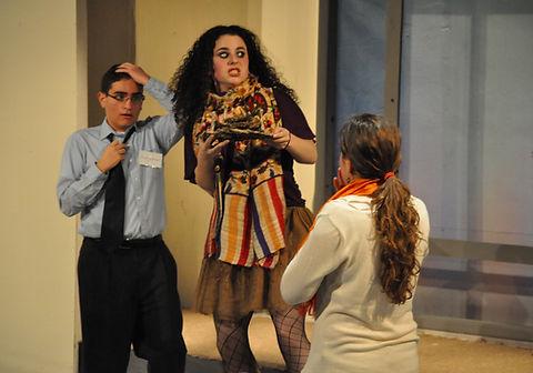"""Cassandra Dupler as """"Tink Solheim"""" in Museum"""