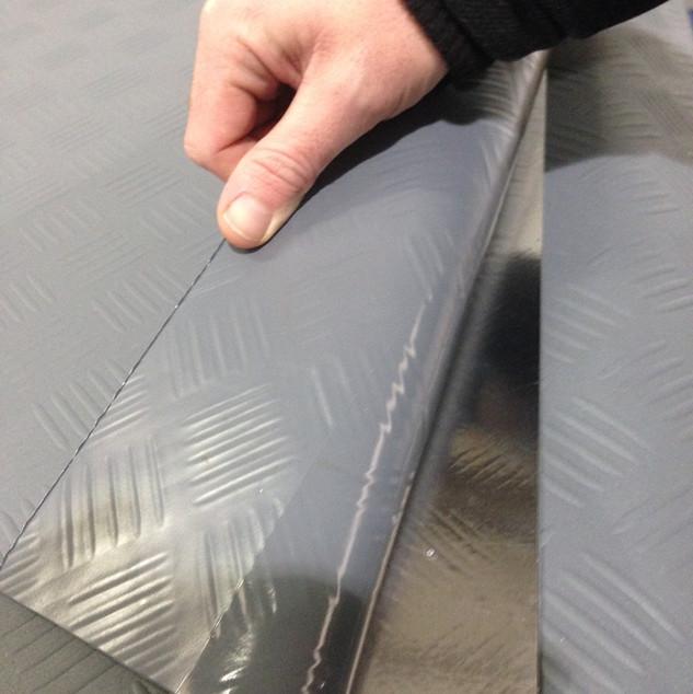 Folding gutters Foldable gutter Fold out gutter Gutter lining  Gutter liners Membrane gutters Composite gutters