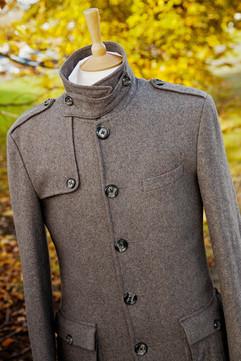 Winter coat in grey