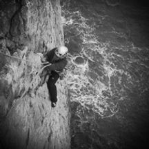 Sea Cliff Climbing Course in North Wales