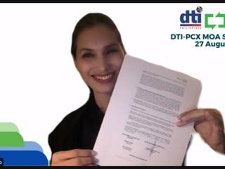 DTI and PCX ink partnership