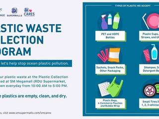 Philippine Star: You can now dispose cleaned and dry plastic waste at SM Megamall – Here's how