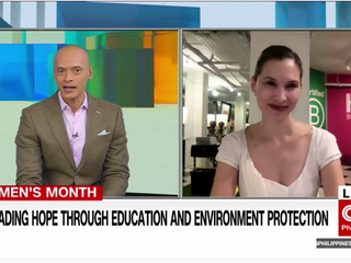 CNN's New Day: Spreading HOPE through Education and Environment Protection