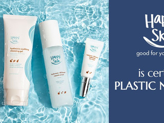 Happy Skin's newest skincare become the first Certified Plastic Negative products in the Philippines