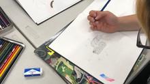 QT Mural workshops at Mi Centro