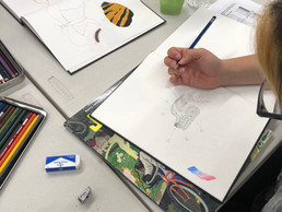 QT Mural workshops at Mi Centro