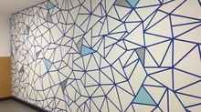 My mural at Constellation Coffee shop in La Cañada Flintridge.