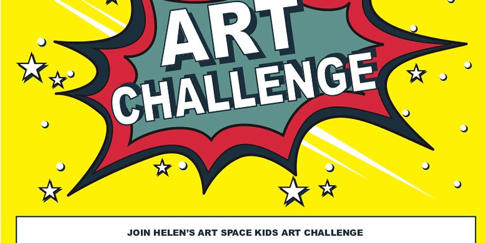 Helen's Art Challenge Thursday Zoom Catch Up