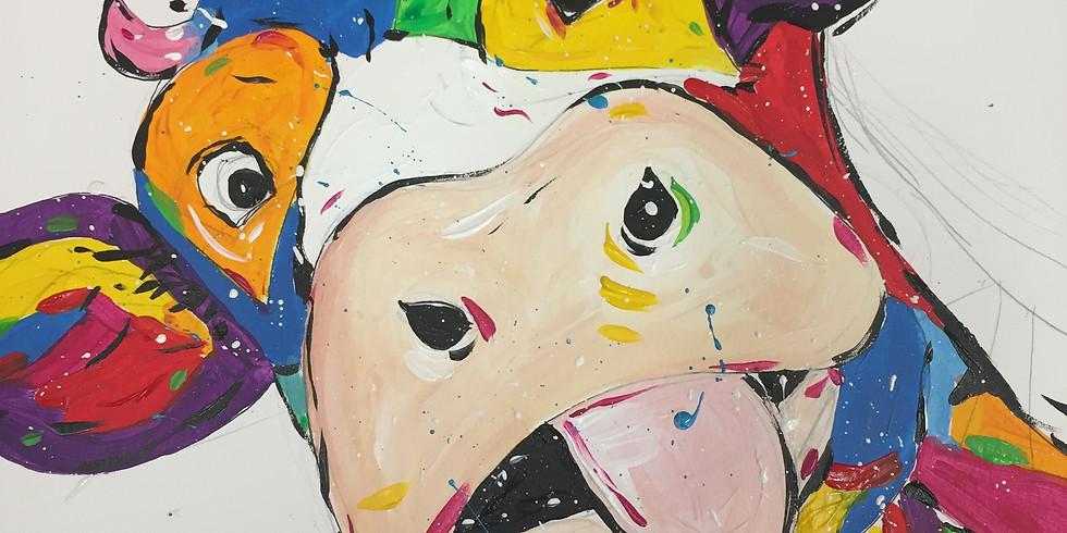 Kids Acrylic Painting Workshop