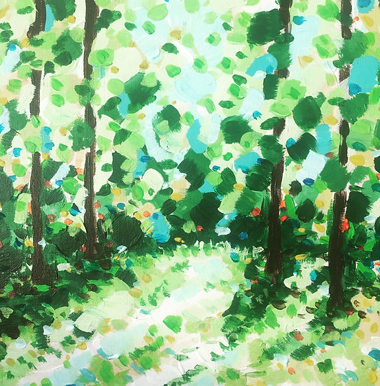 Marlay Park paintings in Acrylic