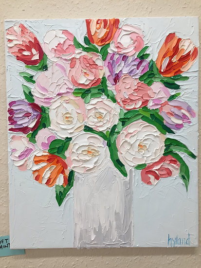 Spring Blooms - Oil Painting