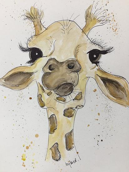 Giraffe 'Lashes'