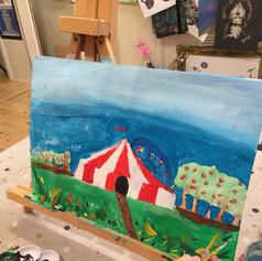Kids Art Party Circus