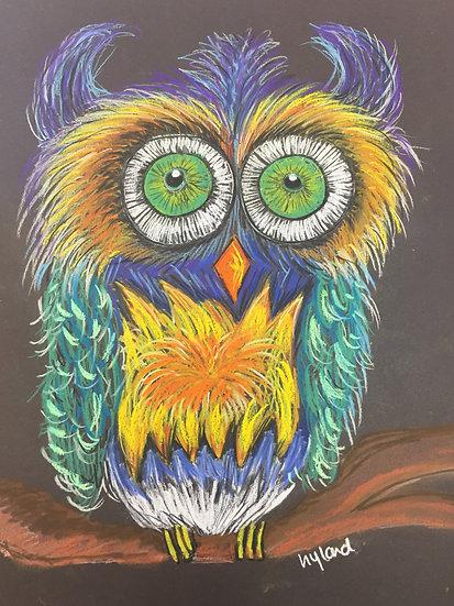 Pastel 'Owlie'