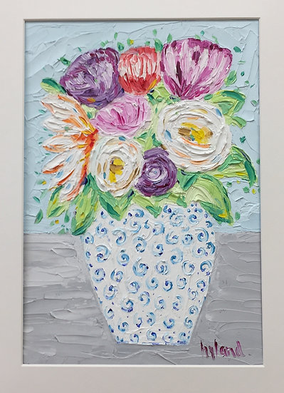 'Spring Blooms' Oil Painting