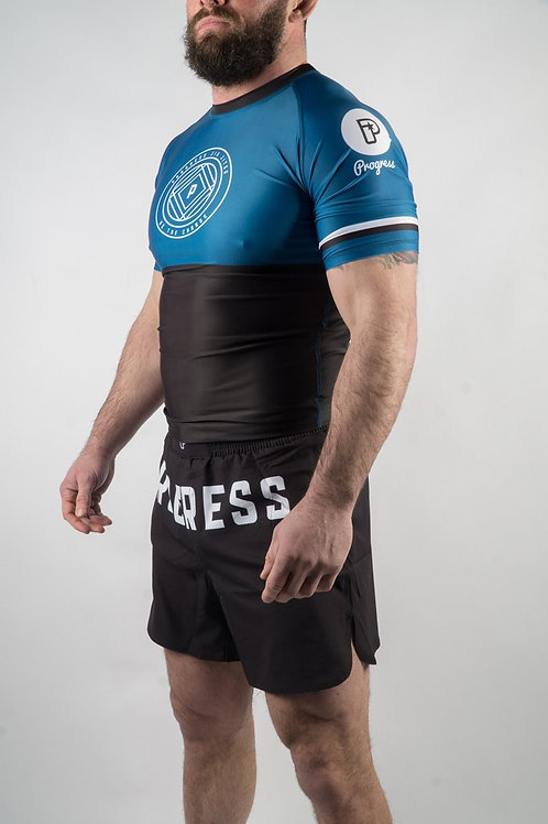 Progress JJ / Ranked Rash Guard / Blue