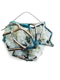 Crystallon Brooch
