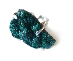 Malachite ring