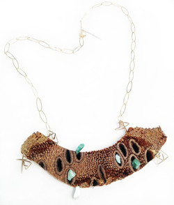 Banksia necklace
