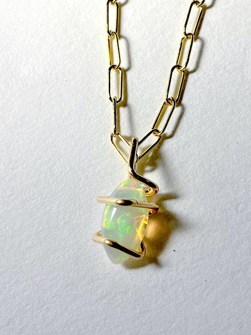 Opal Geo Gem Pendant