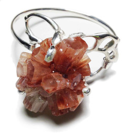 Aragonite bracelet