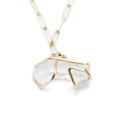 Herkimer Diamond Pendent