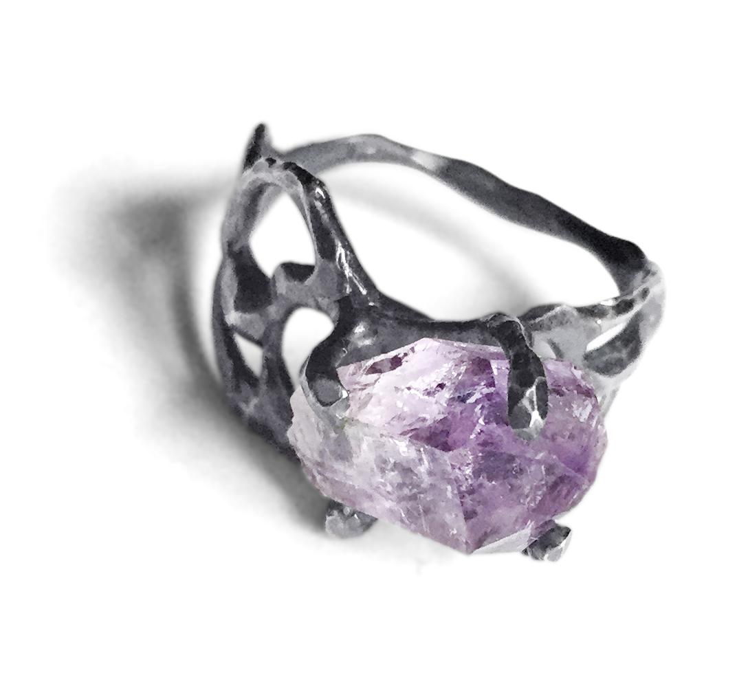 Vera Cruz Amethyst Ring
