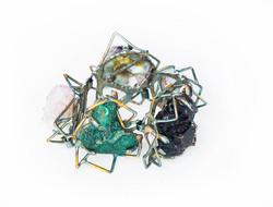 5 mineral link bracelet