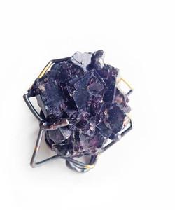 Fluorite Keum-boo ring