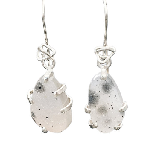 1 Stone Mineral Dangle - Wholesale