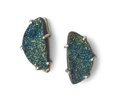 Rainbow Pyrite earrings