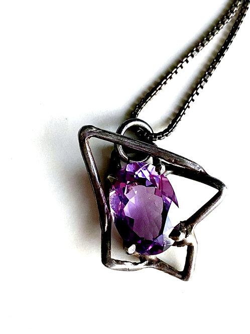 Geo Flower Necklace