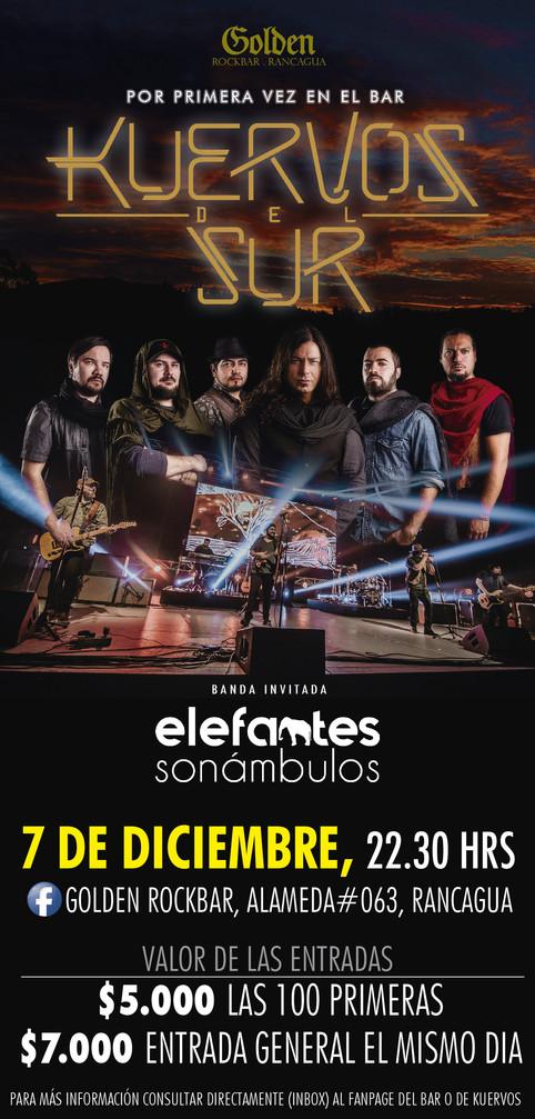 Primera Tocata Elefantes Sonámbulos!!
