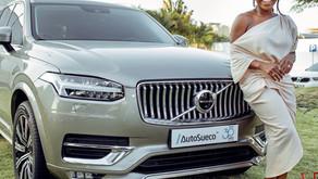 Pérola é oficialmente embaixadora da marca Volvo em Angola