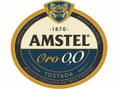 AMSTEL 0,0 ORO