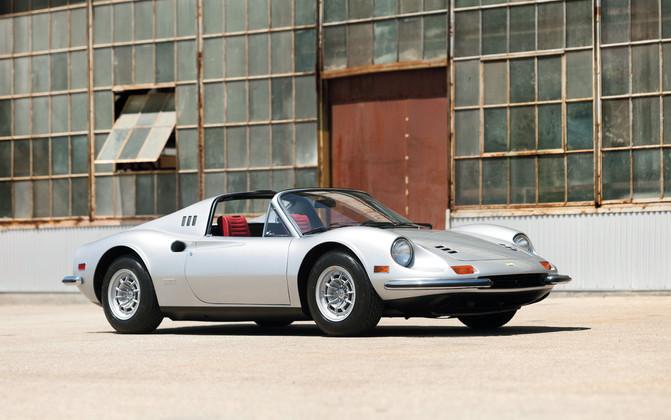 1974 Ferrari Dino 246 GTS Photo Shoot at The Modernica Factory