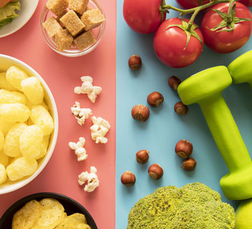 How to Avoid your Temptation to Eat Unhealthy Foods
