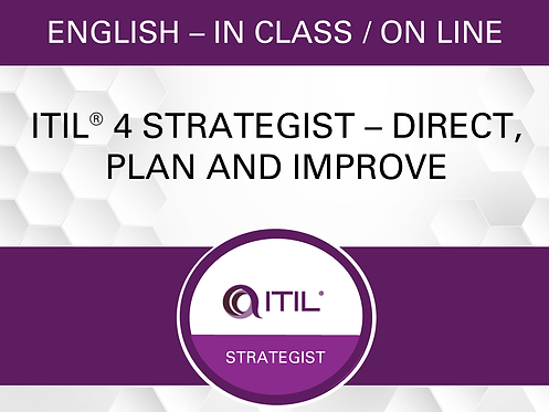 ITIL® 4 Strategist – Direct, Plan and Improve (DPI)
