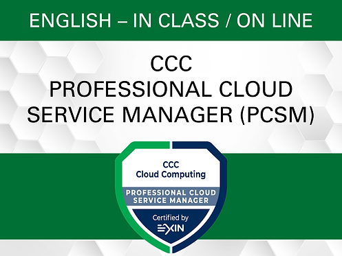 CCC Professional Cloud Service Manager (PCSM)