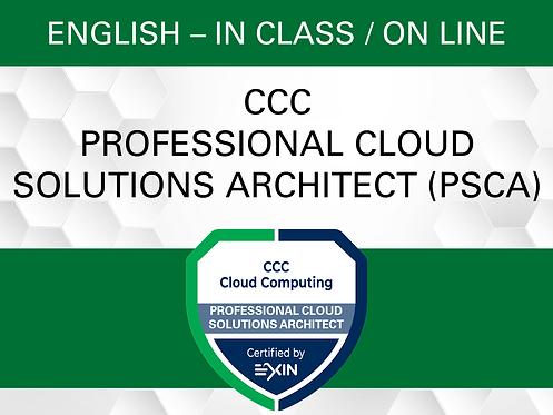 CCC Professional Cloud Solutions Architect (PCSA)
