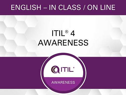 ITIL® 4 Awareness Workshop
