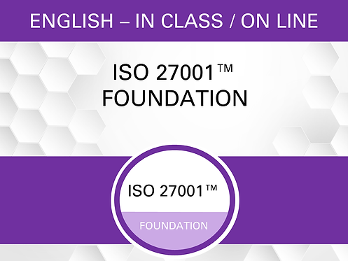 ISO 27001™ Foundation Certification