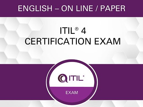 Examen de certification ITIL® 4