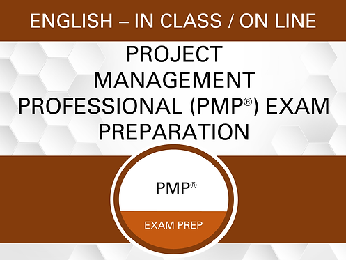 Project Management Professional (PMP®) Exam Preparation