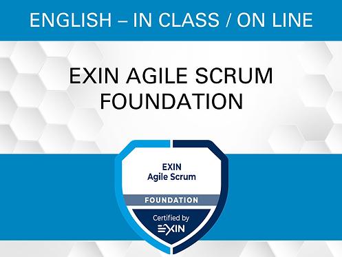 Certification EXIN Agile Scrum Fondation