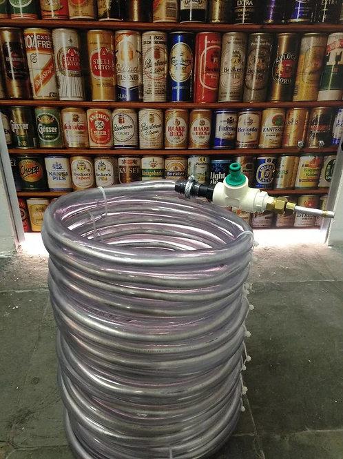 Resfriador Chiller Contra Fluxo 15mts 3/4 Cerveja Artesanal