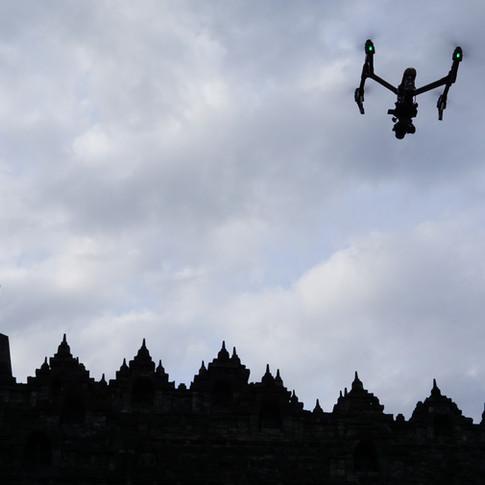 Temple drone