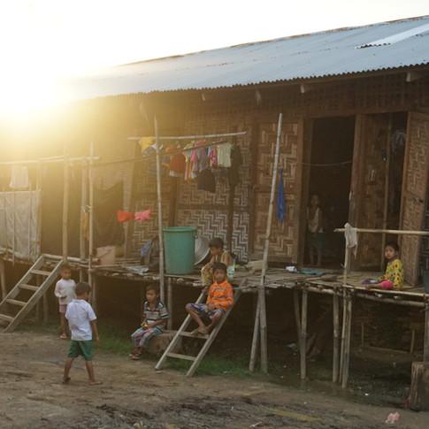 Kids in a camp